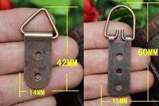Triangle Ring 10-100PCS Mirror Picture Frame Hanging Hanger Hooks+Screws 42/60MM