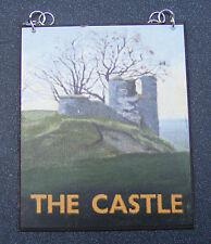 1:12 scala del Castello PUB segno DOLLS HOUSE miniatura BAR-Tavern Accessorio