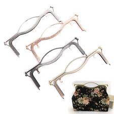 1X 27cm Metal Frame Clasp DIY Handbag Coin Purse Lock Arch Frame Accessories 3Q