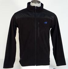 New Balance Black Zip Front Micro Fleece Jacket Mens NWT