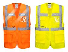 Portwest L476 ORION LED Ejecutivo Alta Visibilidad Chaleco de seguridad -