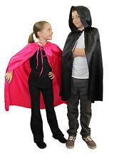 Kinder Kostüm Umhang Kinder Kapuzenumhang Halloween oder Märchen Verkleidung