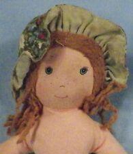 Vintage Amy Cloth Doll Holly Hobbie's Friend Knickerbocker Sweet No Dress 9 inch