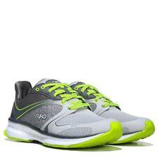 Ryka Nite Run Running Shoe Women's Grey/Lime Shock LED Light Size 8 , 9