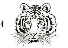 Wandschablone Maler T-shirt Schablone W-006 Tiger ~ UMR Design