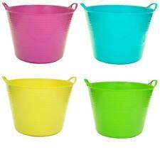 27Lt Flexi Flexible Plastic Tub Tubs Bucket for Home Gardening Building Laundry