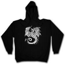Dragon V Hoodie tatuaje medieval monstruo japón asia mazmorra Knight dragón