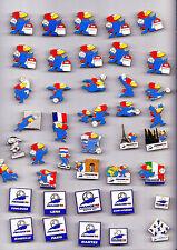 Enamel 1998 FIFA World Cup FRANCE pin badge Football Footix Canon