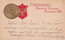* PALERMO - Esposizione Agricola Siciliana, Stemma in rilievo 1902