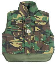 Costume Militare Bambini Gilet Giacca Inglese mimetico Cotone soldatessa 95
