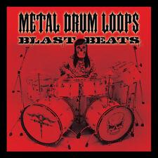 Blast Beats Heavy Metal Thrash bucles de tambor WAV, AIFF, REX2 Cubase Logic Pro Tools