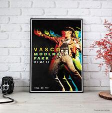 VASCO ROSSI | MODENA PARK | Fine Art Poster - 1 Luglio 2017 Locandina Manifesto
