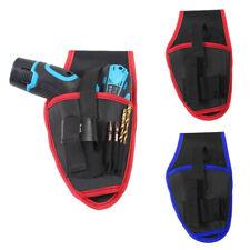 Practical Drill Holder Holster Pouch Cordless Tools Drill Waist Belt Bag Pocket