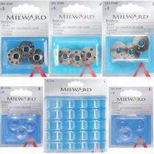 Milward Metal, Plastic Bobbins Sewing Machine Bobbin Box