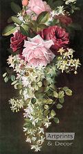 Summer Fragrance by Paul de Longpre (Art Print of Vintage Art)