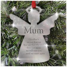PERSONALISED Christmas Bauble ANY RECIPIENT Memorial Loving Memory Mum Dad Xmas
