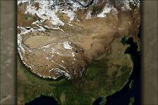 Poster, Many Sizes; Satellite Image Of China In November 2004