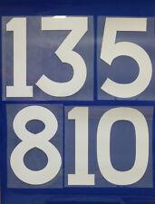 Flock Nummer number home Trikot jersey shirt Scotland Schottland 1960s - 1980s