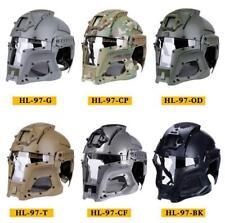 Hunting Tactical Ballistic Helmet Side Rail NVG Shroud Transfer Base Paintball