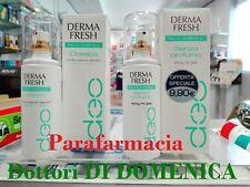 DERMAFRESH Deodorante PELLE NORMALE Classico o Senza Profumo Spray no gas 100ml
