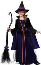 Hocus Pocus Magic Potion Witchcraft Sorceress Dress Witch Costume Child Girls