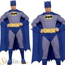 Mens Batman Bold & The Brave Superhero Halloween Fancy Dress Costume Outfit