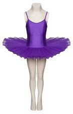 violet paillettes scintillantes DANSE Justaucorps Ballet tutu enfants