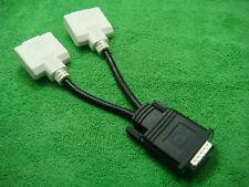 Genuine DELL DMS 59-PIN DVI (M) to 2 DVI (F) Y SPLIT CABLE BizLink 0H9361
