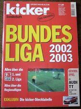 KICKER SONDERHEFT FUSSBALL BUNDESLIGA 2002/03   RAR