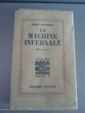 Cocteau la machine infernale E.O. Alfa N°XVIII bel état