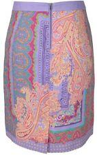 J. Peterman Womens Paisley Skirt No. 4633 100% Linen -new nwt