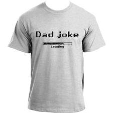 Dad Joke Loading T-shirt | Funny dad short sleeve T shirt for men
