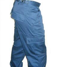 BDU PANTS NAVY BLUE Light Weight CARGO 6 POCKETS SIZES S,M,L,XL,2XL
