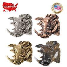 Creative Pewter Designs Warthog Premium Lapel Pin or Magnet, M107PR
