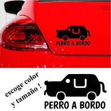 Sticker Vinilo - PERRO A BORDO - Vinyl - Car Tunnig -Pegatina-ADESIVI-AUFKLEBER
