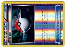 POKEMON NOIR & BLANC HOLO INV N°  97/114 POKE BALL