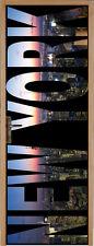 Adesivo per porta semplice New York 73x204cm ref 052