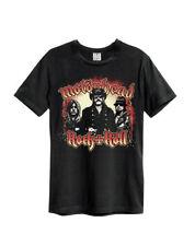 Amplified Motorhead-CATENE-Uomo Nero T-shirt
