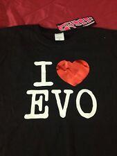 JDM STYLE I Love EVO MITSUBISHI LANCER ECLIPSE 4g63  4G69 T-SHIRT NWT 4G63 4B11