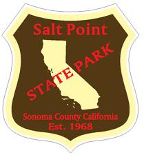 Salt Point State Park Sticker R6690 California YOU CHOOSE SIZE