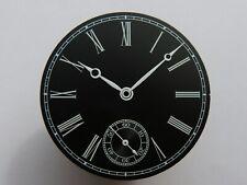 Cadran Aiguilles MARINE BLACK Moon 6498 ETA Unitas watch dial Zifferblatt 36.4mm