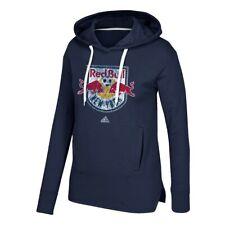 New York Red Bulls MLS Adidas Women's Navy Blue Distressed Primary Fleece