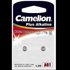 Pile Bouton Alcaline 1,5V : AG4  LR626 LR66 177 SR626W GP77A 377 lots de 2 à 100