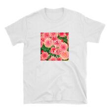 I Like It Like That White Shirt 100% Cotton Tee - Cardi B Floral Design