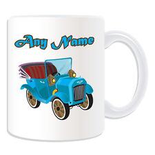 Personalised Gift Vintage Convertible Car Mug Money Box Classic Retro Austin Cup