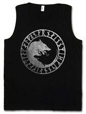 GERI AND FREKI TANK TOP Odhins Odin Wolves Wölfe Thor Loki und Rune Walhalla