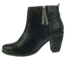 Bugatti Damenschuhe NEU Ankle Boots AURORA EVO black V4036 schwarz Echtleder
