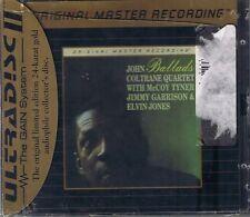 Coltrane, John Quartet Ballads MFSL ORO CD NUOVO OVP Sea