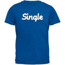 Valentine's Day Single Blue Adult T-Shirt