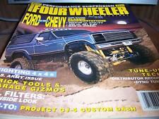 Four Wheeler April 1991 Ford vs. Chevy